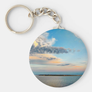 Sunset over the Island Key Ring