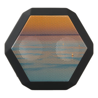 Sunset over the lake Balaton, Hungary Black Bluetooth Speaker