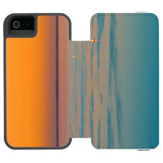 Sunset over the lake Balaton, Hungary Incipio Watson™ iPhone 5 Wallet Case