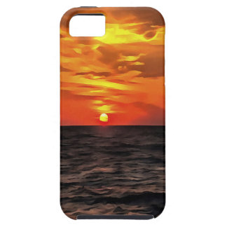 Sunset Over the Mediterranean Sea iPhone 5 Cover