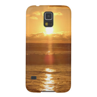 Sunset over the Ocean phone cover