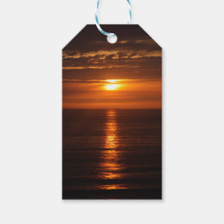 Sunset Over the Pacific Gift Tags