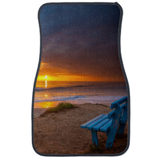 Sunset over the Pacific Ocean Car Mat