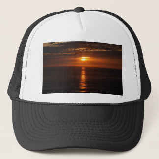 Sunset Over the Pacific Trucker Hat
