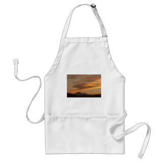 Sunset  over the Twin Peaks Apron