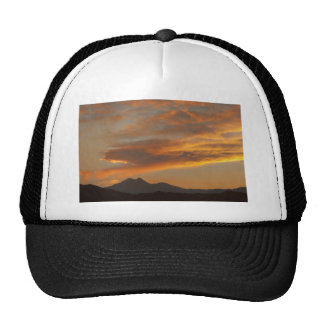 Sunset  over the Twin Peaks Mesh Hats