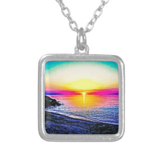 Sunset Over The Water Custom Jewelry