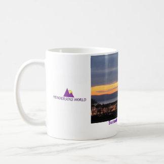 Sunset over Uig Bay Coffee Mugs