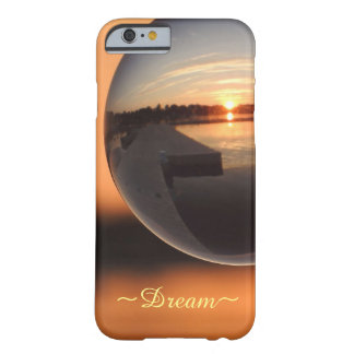 Sunset Over Water Crystal Ball - Dream Barely There iPhone 6 Case