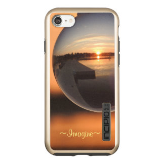 Sunset Over Water Crystal Ball Dream Incipio DualPro Shine iPhone 8/7 Case