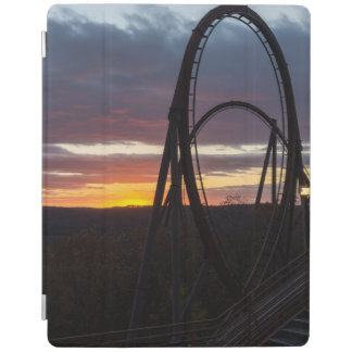 Sunset Over Wildfire iPad Cover