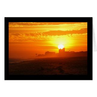 Sunset overlooking Emerald Isle Card