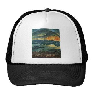 Sunset painting trucker hat