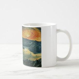 Sunset painting mug