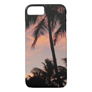 Sunset Palm Tree iPhone Case