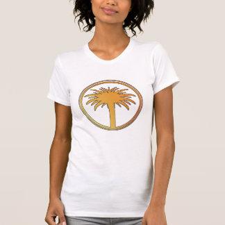 Sunset Palm Tree T-shirts