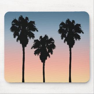 Sunset Palm Trees Mousepad