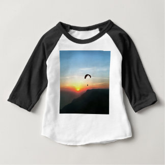Sunset Paraglide Baby T-Shirt