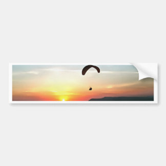 Sunset Paraglide Bumper Sticker