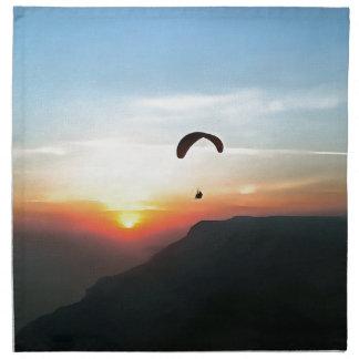 Sunset Paraglide Napkin