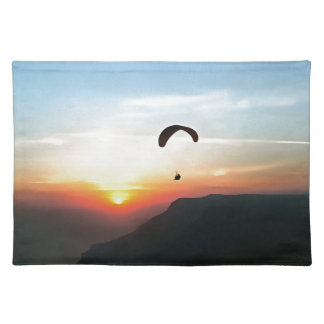 Sunset Paraglide Placemat
