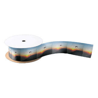 Sunset Paraglide Satin Ribbon