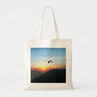 Sunset Paraglide Tote Bag