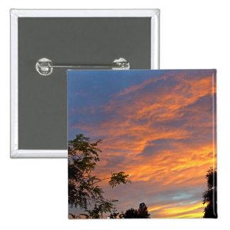 Sunset Peace Pins