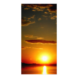 Sunset Personalized Photo Card