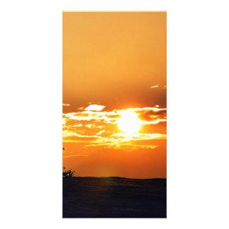 Sunset Personalised Photo Card