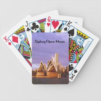 Sunset Photo of Sydney Opera House Card Decks