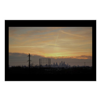 Sunset Photo Poster