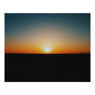 SUNSET PHOTOGRAPHY POSTER