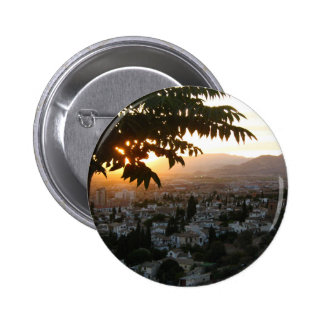 Sunset Photography Round Badge
