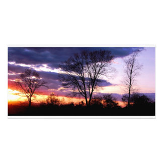 Sunset Picture Card