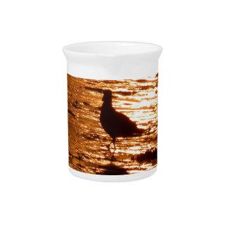sunset pitcher