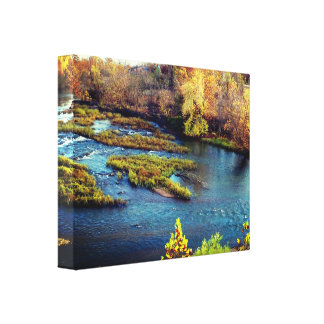 Sunset Print of Shoal Creek, Joplin Missouri