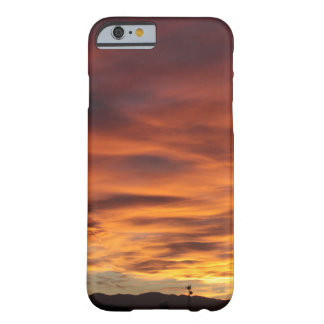 Sunset Radio Tower Barely There iPhone 6 Case