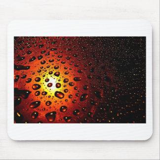 Sunset Raindrops Season Background Pattern Mouse Pad