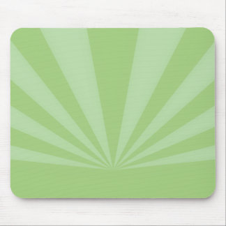 Sunset Rays Springtime Green Mouse Pad