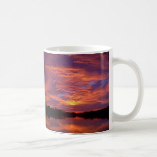 Sunset Red Coffee Mug
