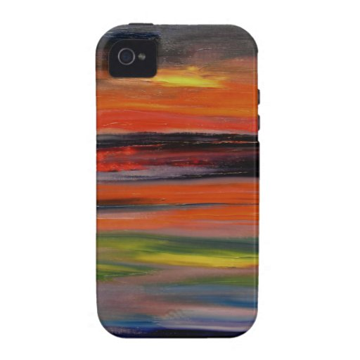 Sunset reflected on the ocean surface Case-Mate iPhone 4 covers