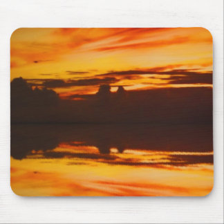 Sunset Reflection Mouse Pad