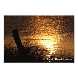 Sunset Reflection Photo Enlargement