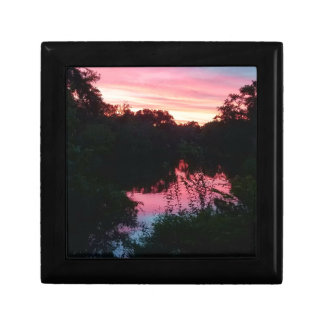 Sunset Reflections Before the Storm Gift Box