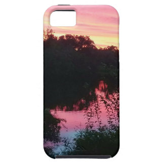 Sunset Reflections Before the Storm iPhone 5 Case