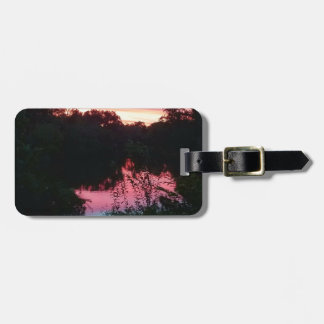 Sunset Reflections Before the Storm Luggage Tag