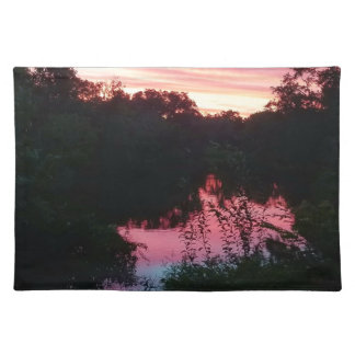 Sunset Reflections Before the Storm Placemat