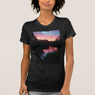 Sunset Reflections Before the Storm T-Shirt