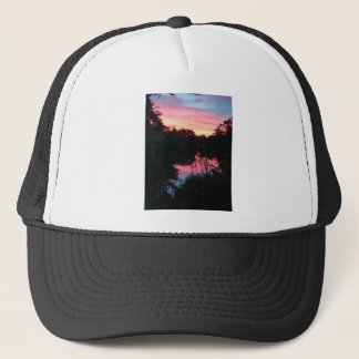 Sunset Reflections Before the Storm Trucker Hat